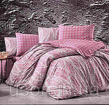 Комплект постельного белья из фланели ТМ Belizza Arrigo bordo