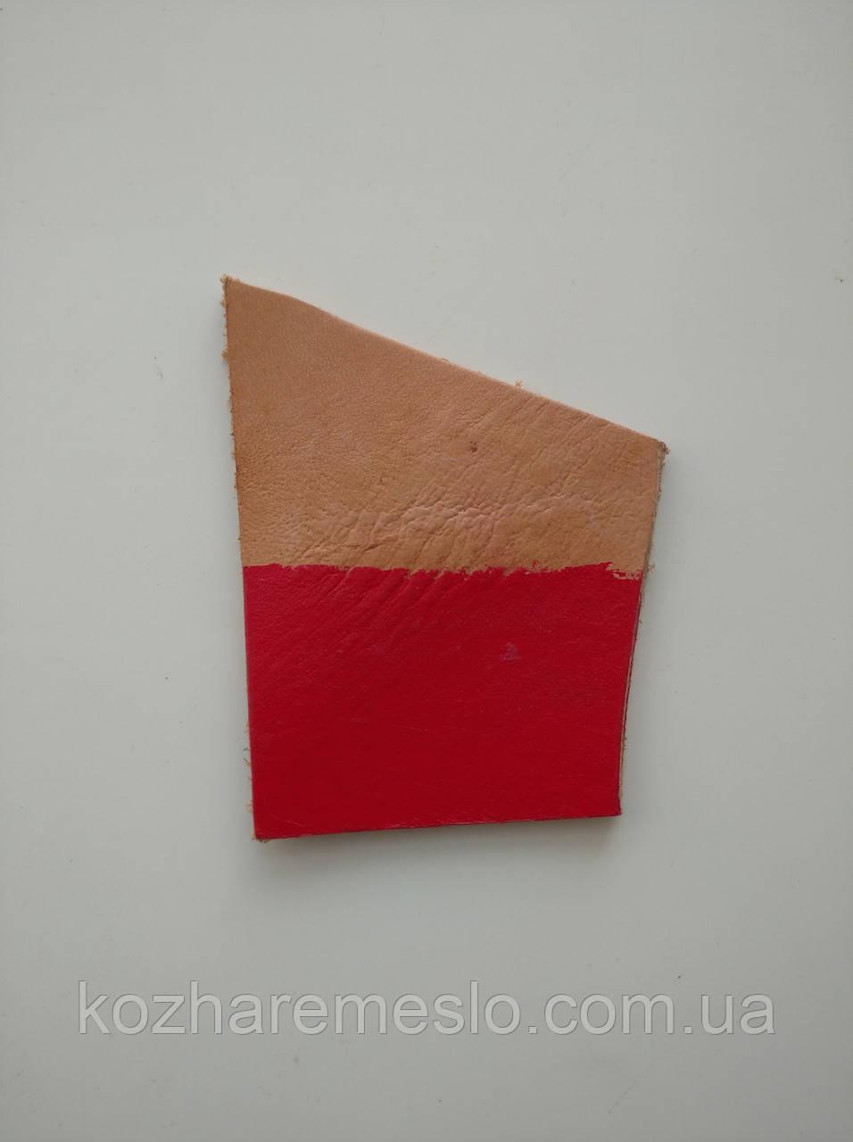 Краска для кожи HP COLOURS Fenice на водной основе пигментная 30 мл красная (Италия)