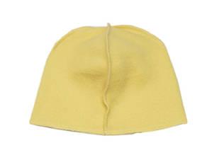 Флисовая подкладка для шапки 46.5 см, Желтая
