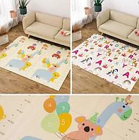 Детский двусторонний коврик Ростомер - Пегас складной развивающий коврик термо 2м х 1,8м х 10 мм
