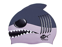 Шапка для плавания силиконовая Dolvor shark