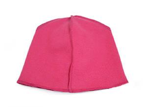 Флисовая подкладка для шапки 43см, Розовый