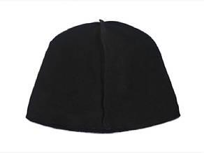 Флисовая подкладка для шапки 46,5см, Черный