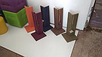 Угловые когтиточки для кошек 13х13х52 см.Готовые дизайнерские решения.