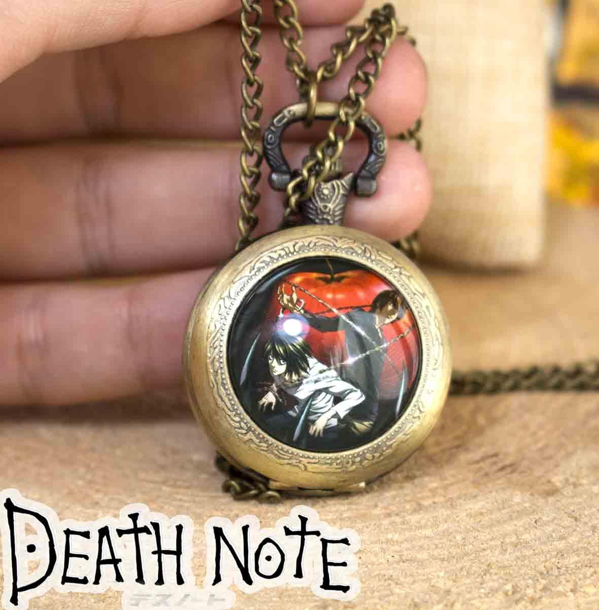 Карманные часы L Тетрадь смерти / Death Note