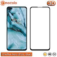 Защитное Full Glue стекло Mocolo OnePlus Nord (Black) - 5D Полная поклейка