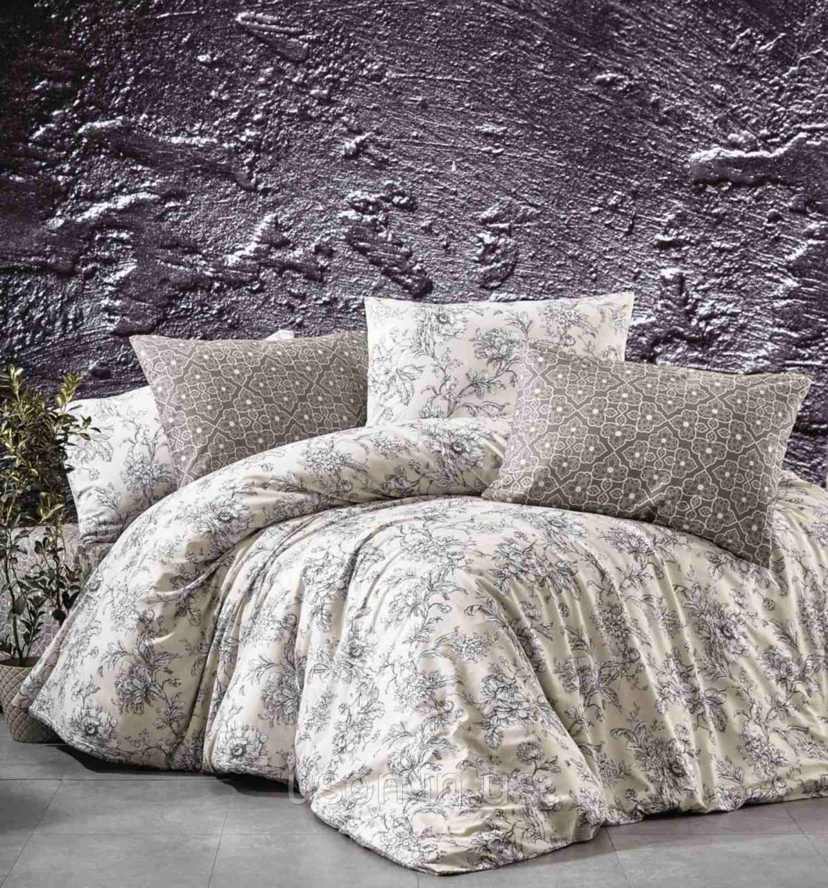Комплект постельного белья из фланели ТМ Belizza Estelita Bej