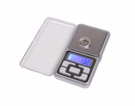 Карманные ювелирные весы Domotec ACS MS-1724 500g/0.01g с подсветкой