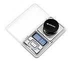 Карманные ювелирные весы Domotec ACS MS-1724 500g/0.01g с подсветкой, фото 5