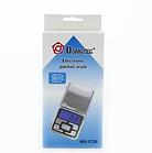 Карманные ювелирные весы Domotec ACS MS-1724 500g/0.01g с подсветкой, фото 3