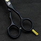 5,5 дюймів професійні перукарські ножиці для стрижки Японія JP440C Univinlions 5204, фото 4