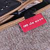 Перчатки женские кожаные de esse Черные, фото 8