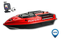 Карповый кораблик Camarad V3 GPS + Lucky 918 Red