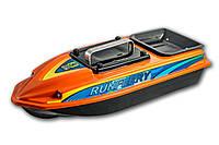 Карповый кораблик Runferry ATOM Premium FULL GPS Autopilot / Глубиномер, 15 Am/h, Lucky 918
