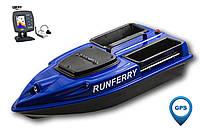 Карповый кораблик Camarad V3 GPS + Lucky 918 Blue