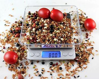Большие ювелирные весы Domotec MS-1729A от 0.1 грамм до 3000 грамм