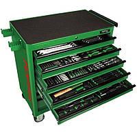 Набор инструментов в тележке TOPTUL 8 секций 360 ед. JUMBO GT-36001, фото 1
