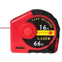 Лазерная рулетка/дальномер 2-в-1 5м/20м PROTESTER J20, фото 1
