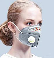 СЕРТИФИЦИРОВАННАЯ Маска-респиратор для лица с максимальной степенью защиты, 6 слоев защиты, многоразовая!