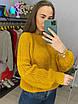 Женское вязаный свитер с рукавами фонариками (р. 42 - 46) 33dm929, фото 10