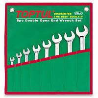 Набор ключей комбинированных TOPTUL 8 шт. 10-19 GAAA0804