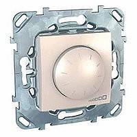 Механизм диммера (светорегулятора), 1000Вт, 2 модуля, Unica слоновая кость, MGU5.512.25