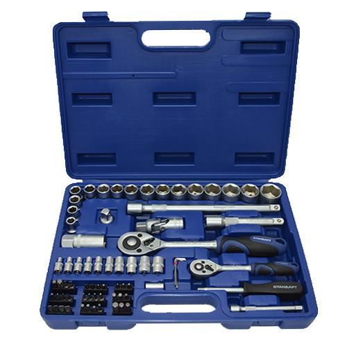 Комбинированный набор инструментов 73ед. СТАНДАРТ ST-0073