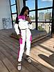 Светоотражающий женский спортивный костюм с укороченным худи и джоггерами (р. 42-44) 66rt1110Q, фото 8