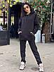 Женский теплый спортивный костюм из трехнитки на флисе (р. 42 - 48) 55rt1112, фото 6