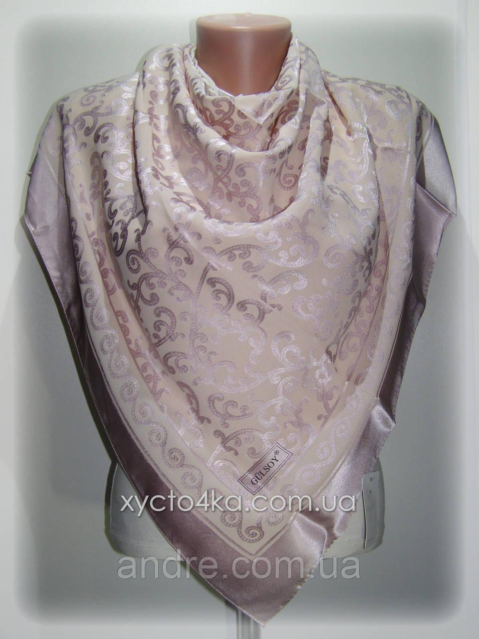 Шелковый платок Афродита, сиреневый