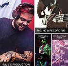 DJ Наушники OneAudio Odio Studio Pro 50 Dark Brown гарнитура Hi-Fi студийные монитор, фото 8