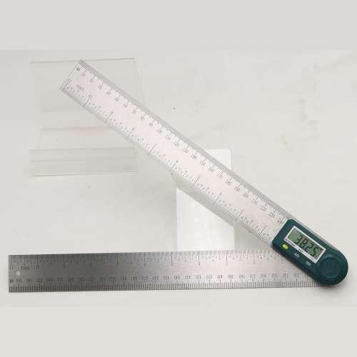 Угломер (прибор для измерения углов) электронный с линейкой 300 мм PROTESTER 5423-300