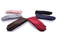 Женские перчатки оптом 2-35 mix Женские перчатки для сенсора, перчатки женские текстиль оптом Одесса 7 км