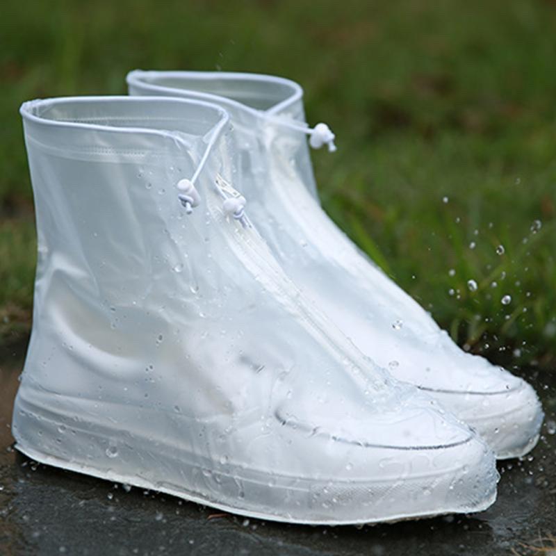 Бахіли від дощу, чохли на взуття, жіночі М білі