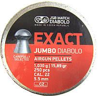 Пули JSB Jumbo Exact Diabolo 5.5 мм, 1.03 гр. (250шт)