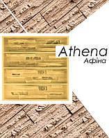 Форма Афина для настенной плитки из гипса под декоративный камень полиуретановая