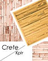 Форма Крит для настенной плитки из гипса под декоративный кирпич полиуретановая