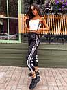 Женские спортивные штаны джоггеры со светоотражающими полосками (р. 42-46) 68bil539, фото 3
