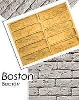 Форма для плиток из гипса Бостон декоративных кирпичиков силиконовая полиуретановая камня