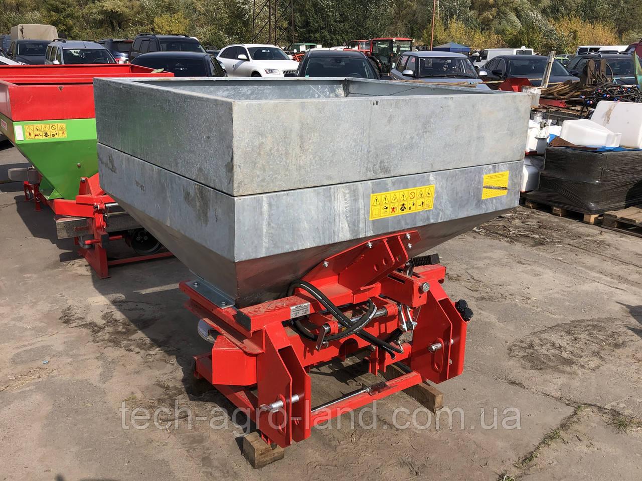 Розкидач мінеральних добрив JAR-MET 1000 кг