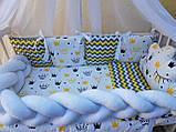 """Комплект """"Koss"""" в детскую кроватку, фото 8"""