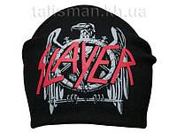 SLAYER-2 (орел) - шапка-бини - вязанная с накаткой