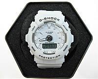 Годинник дитячі Casio G-Shock Baby-G 40mm White. Replica