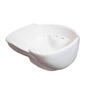 Парикмахерская керамика белая/черная  для парикмахерской мойки