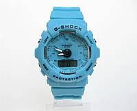 Годинник дитячі Casio G-Shock Baby-G 40mm Blue. Replica