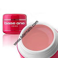 Гель для наращивания ногтей Silcare Base One розовый 50г
