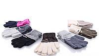 Детские перчатки оптом E8 mix Детские перчатки текстиль, перчатки оптом