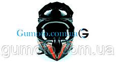 Кроссовый мотошлем 806 Spider Red Matt S/M, фото 3
