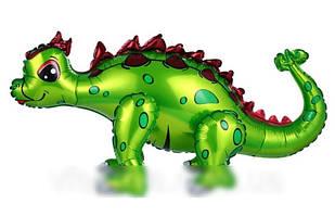 Шар-ходячка Стегозавр зеленый 73х36см