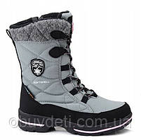 Теплі зимові чоботи для дівчинки Demar 26-27р - 17,5 см;